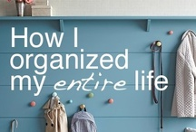 DIY: Organizing / ideas to make your home more organized and user-friendly.