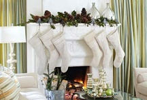 Christmas: Mantles / The stockings were hung...