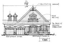 Conceptual Plans / Nationally recognized as one of the leading residential house plan designers, Don Gardner is proud to showcase a collection of conceptual house plans on the drawing board. We welcome your feedback on these house plans, and we have provided a sketch form of each home design so that our customers can view our house plan drawing. Don Gardner produces dozens of new house plans each year, and our house plans on the drawing board are a window into the creative process.
