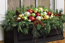 """Everyday"" Christmas Outdoors / Deck the Halls then Deck the Decks! / by Everyday Home"