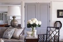 Decorating with Grey/Gray / Inspiration for decorating with grey / decorating with fray.