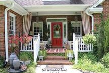Home: Porches & Decks / Verandahs, Piazzas and Porches! / by The Everyday Home