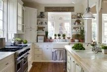 (House Ideas) Kitchen  / If ya can't take the heat get your ass out of the kitchen. / by Vicky Bell