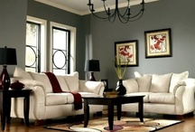 (House Ideas) Cool Living Rooms / Come into my parlor, said the spider to the fly. / by Vicky Bell