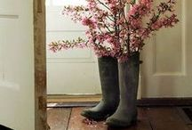 Spring Decorating / When the birds start chirping. / by Vicky Bell