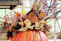 Seasons: Fall Centerpieces / The perfect arrangements for Fall! / by The Everyday Home