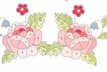 Ornament / орнамент, рисунок для вышивки, идеи для вышивки / by эгоистка-я