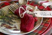 Christmas: Tables / Setting the Perfect Christmas Table!