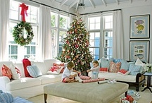 Christmas: Family Room / Decking the Halls of the Family Room! / by The Everyday Home