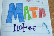 8th Grade Math & Algebra 1 / 8th Grade Math & Algebra 1.. Interactive Math Notes, Projects, foldables / by Amber Guzman