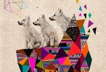 Geometric Patterns and Goodies / Geometric patterns, art, and prints