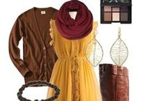 Fashion: Fall / It's Fall y'all.  Time to grab some boots, a sweater and a scarf!