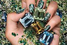 Makeup and Nails / Makeup and nails artistry, beauty, cosmetics, polish