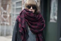 Scarves / Scarves from warm and fuzzy to high end Hermes, fashion, accessories