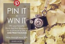Rock the Shot Pin It to Win It Contest Board / Pin your favorite Rock the Shot Blog posts for a chance to win a $500 PRIZE PACKAGE!  Enter here:  http://bit.ly/1g86hj6