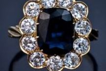 Sapphires and Diamonds / The beautiful world of sapphires and diamonds, jewelry, vintage pieces, accessories