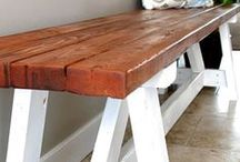 """DIY: Furniture / Fabulous ideas for building your own furniture.  Bringing out the """"Ana White"""" in all of us!"""