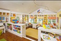 Playroom - Craftroom / by Christa Fox