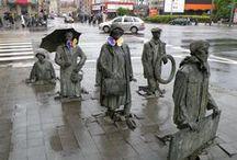trompe l'oeil- illusion street art