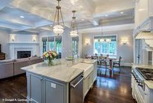 Killer Kitchen Islands / Browse our kitchen designs with islands! http://www.dongardner.com/