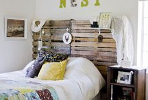 Home ideas / Inspirational home decor ideas for a bohemian, eclectic home  / by Chelsea- HorseFeathers Gifts
