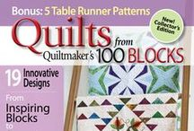 Quilts from Quiltmaker's 100 Blocks / Dozens of quilt designs based on blocks found in the volumes of Quiltmaker's 100 Blocks.  / by Quiltmaker Magazine
