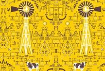 Quagga fabrics and wallpapers / Surface pattern design with a strong South African flair. www.fabrics-wallpapers.co.za