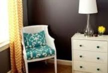 Gray & Turquoise / Inspiring ways to use gray and turquoise in your life / by Heather Roth