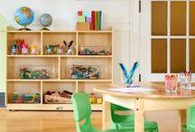 Playroom Decor Inspiration / Playroom decor ideas.