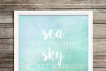 Craft: Wall Decor & Free Printables / DIY & Buy Ideas for Wall Decor - prints, photos, frames. / by Swoodson Says