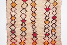 Rugs & Carpets / Handmade old and antique rugs from Morocco and Central Asia.