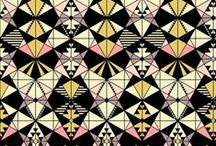 DESIGN : Art Deco / I've always had a soft spot for the art deco style, I think because of their use of geometrics, but in a more elegant, sophisticated way to the current trends.