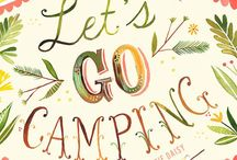 Lets go camping / by Chelsea- HorseFeathers Gifts