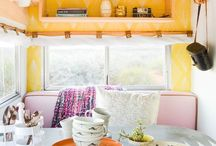 Camper Renovations / Dedicated to ideas for renovation and updating new and vintage campers  / by Chelsea- HorseFeathers Gifts