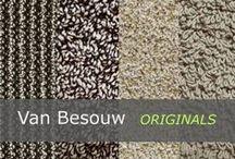 van Besouw Tapijt bij Eurlings Interieurs / De nieuwe oogst is binnen Van Besouw. De beleving van katoen is zacht, natuurlijk, origineel, puur en eerlijk. Het is een tapijtproducent waar kunstzinnig en vooruitstrevend design voorop staat.  De ontwerpen zijn recht door zee. Bij Van Besouw vind je bijzondere tapijten, unieke structuren, bijzonder materiaalgebruik in prachtige eigentijdse kleuren, uitgesproken in originele kleuren en sterk in tijdloze basistinten. Vanaf nu te zien in onze showroom.