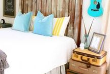 Guest Room- The Farmer B&B / Guest Room Ideas  / by Chelsea- HorseFeathers Gifts