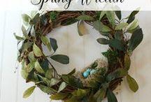 Spring Crafts and Activities / Spring seasonal activities, snacks, DIYs, and crafts.