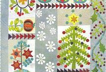 Christmas Quilts / Look here for all your Christmas quilting needs including small quilts, larger quilts and quilted home decor. / by Quiltmaker