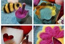 Weaving & Needle Felting Tutorials & Inspiration / Tutorials and inspiration for weaving, looms, and needle felting