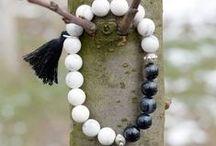 Beaded bracelets  by Azzurro Stela / Beaded bracelets, wrap bracelets, cord bracelets, anklets,