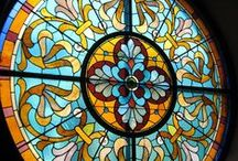 Stained glass and Tiffany lamps / by Beth Parsons