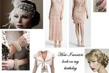 Party: Great Gatsby/Flapper 1920s theme / Roar out my 20's & swing into my 30's / by JEANNiE Z.MiLES
