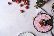 Desserts, Sweets & Sugar / Desserts & Gourmandises / #dessert #food #sweets #bakery #foodPhotography #sugar #cakes #tarts #chocolate #culinary #yummy
