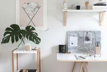 Workspaces / Au boulot / #decoration #decor #interior #at-work #workspaces