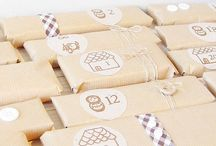 Cards & wrapping / #cartes #emballages #cadeaux #diy #wrapp #cards #gift #party #fête