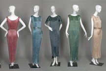 Designer: Mariano Fortuny  / Mariano Fortuny (1871-1949). Delphos dresses in all the colours imaginable.... / by Elle
