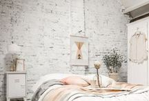 Bedroom / La chambre / #decoration #deco #interior #bedroom #chambre-à-coucher