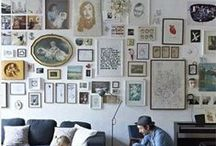 Gallery wall / a gallery on the wall