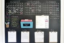 Family Management / For everything it takes to manage and run the family (& often home) effectively. Chore Charts, Meal planning ideas, Family command centers, etc. / by Shera {A Frog In My Soup}