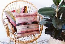 Boho chic / #boho #bohemian #bohemien #decor #mode #inspiration #interior #home